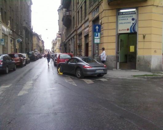 Porsche blocat